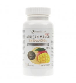 Progress Labs African Mango FORTE 20:1 6000 mg - 60 tabletek