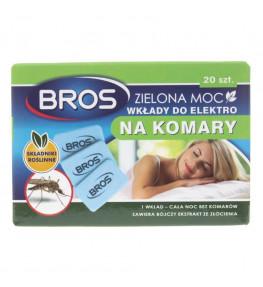 Bros Zielona Moc Wkłady do elektro na komary - 20 sztuk