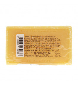 Mydło marsylskie pomarańcza grejpfrut 100 g - Le Chatelard