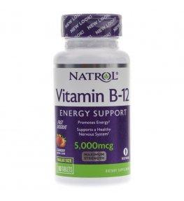 Natrol Witamina B12 5000 mcg - 100 tabletek