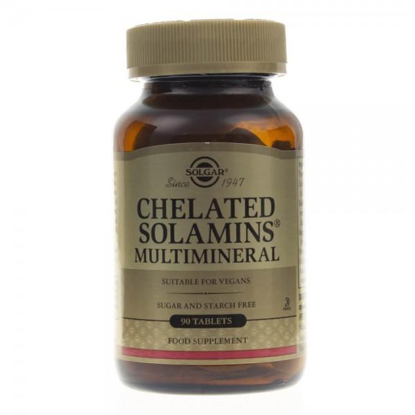 Solgar Sole Mineralne Chelaty - 90 tabletek