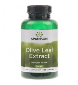Swanson Liście Oliwy ekstrakt (Olive Leaf) 500mg - 60 kapsułek