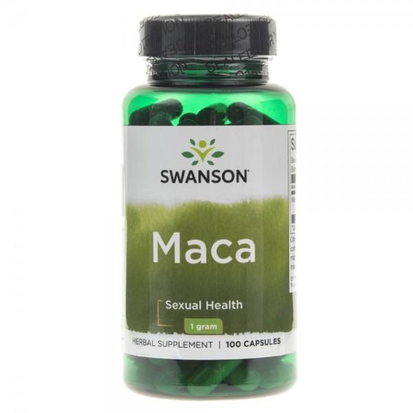 Swanson Maca 500mg - 100 kapsułek