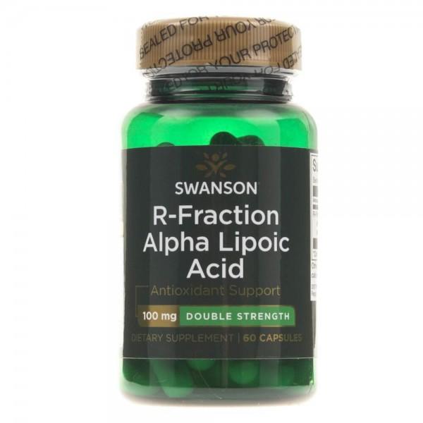 Swanson Kwas R Alfa Liponowy (R-Fraction) 100 mg - 60 kapsułek
