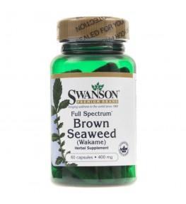 Swanson Brown Seaweed (Wakame) 400 mg - 60 kapsułek
