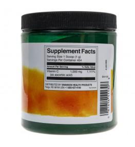 Swanson Witamina C w proszku 1000 mg - 454 gramów