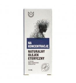 Naturalne Aromaty olejek eteryczny Na koncentrację - 12 ml