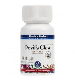 Medica Herbs Devil's Claw wyciąg 600 mg - 45 kapsułek