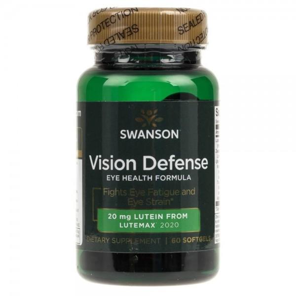 Swanson Vision Defense - 60 kapsułek