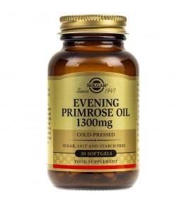 Solgar Evening Primrose Oil (Olej z wiesiołka) 1300 mg - 30 kapsułek