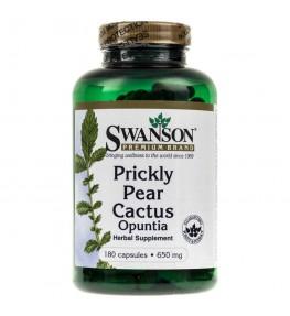 Swanson Prickly Pear Cactus (Opuncja) 650 mg - 180 kapsułek
