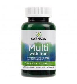 Swanson Century Formula żelazem - 130 tabletek