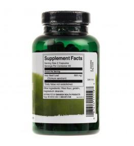 Swanson Holy Basil Leaf (Liść bazylii) 400 mg - 120 kapsułek