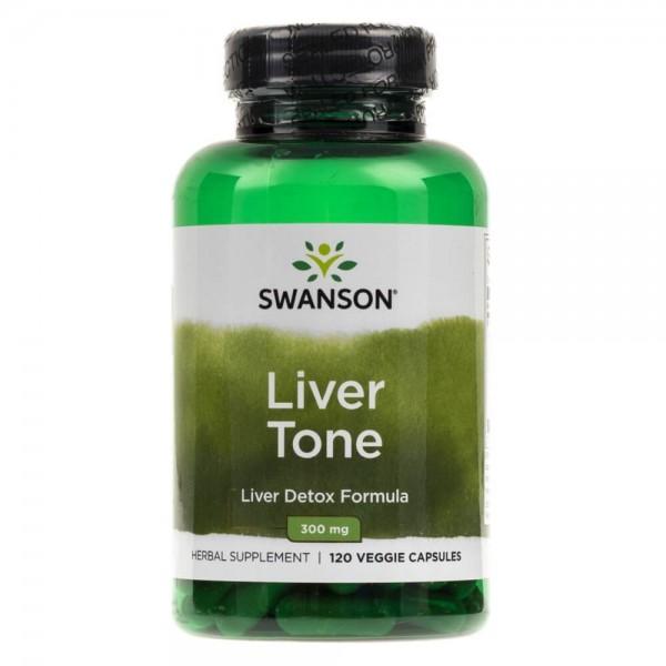 Swanson Liver Tone (Detox Formula) 300 mg - 120 kapsułek