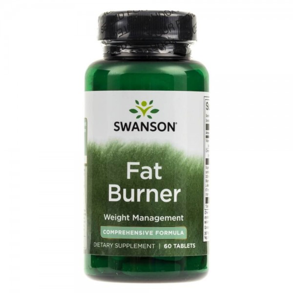 Swanson Fat Burner - 60 tabletek