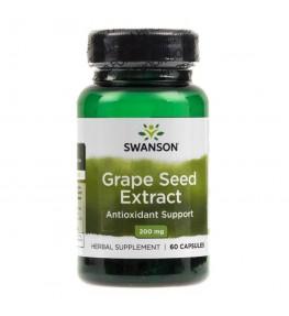 Swanson Grape Seed ekstrakt (ekstrakt z nasion winogron) 200 mg - 60 kapsułek
