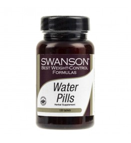 Swanson Water Pills - 120 tabletek
