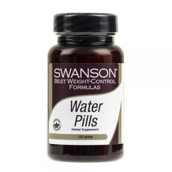 Swanson Water Pills - 120 tabletek