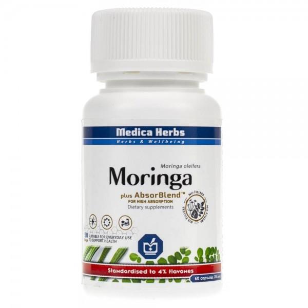Medica Herbs Moringa wyciąg 706 mg - 60 kapsułek