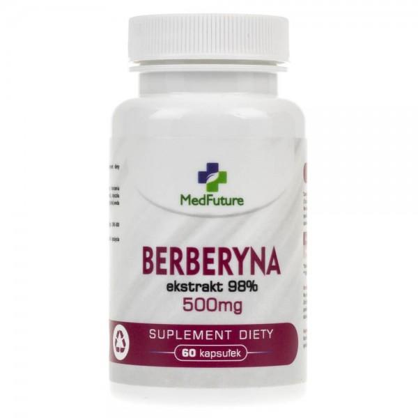 MedFuture Berberyna ekstrakt 98% 500 mg - 60 kapsułek