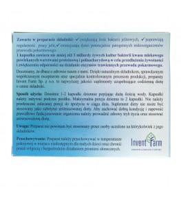 Invent Farm Lacto Farm probiotyk IV generacji - 20 kapsułek