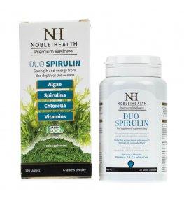 Noble Health Duo Spirulin - 120 tabletek