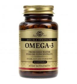 Solgar Double Strength Omega-3 - 30 kapsułek
