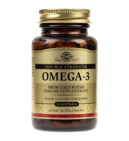 Solgar Double Strength Omega-3 - 30 tabletek