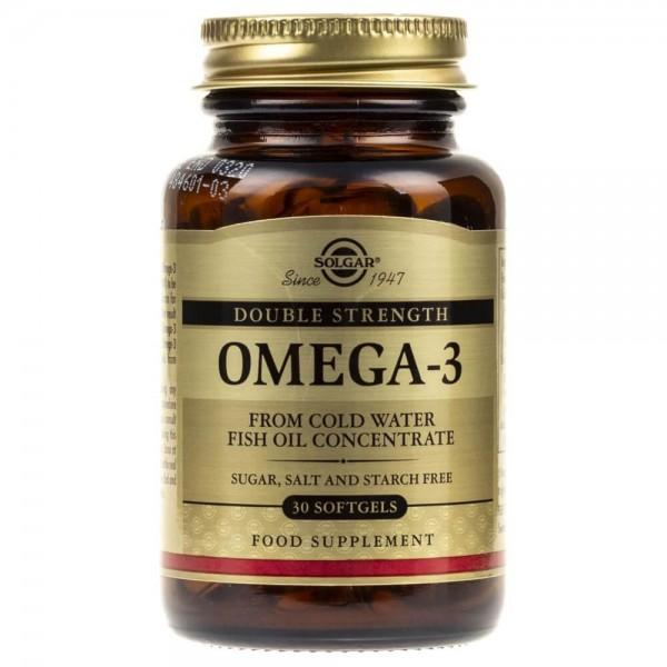 Solgar Double Strength Omega-3 - 30 tabletek