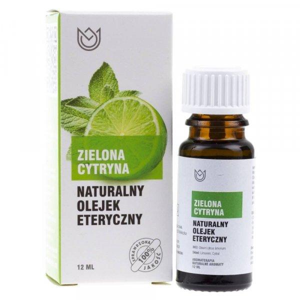 Naturalne Aromaty olejek eteryczny Zielona Cytryna - 12 ml