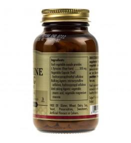 Solgar L-Tyrozyna 500 mg - 50 kapsułek
