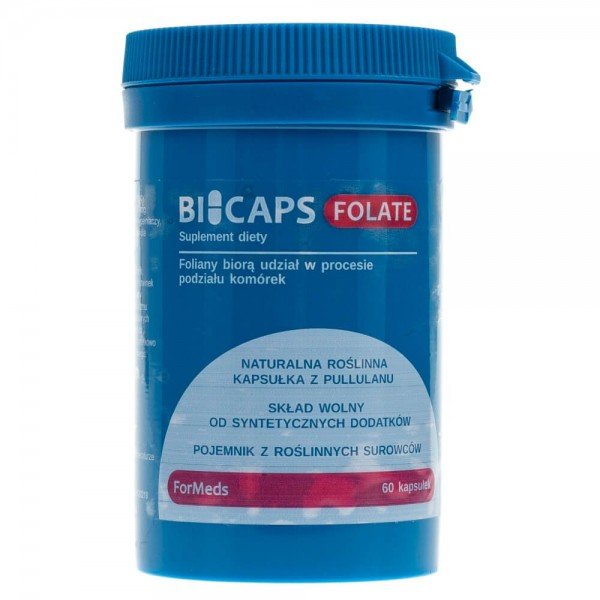 Formeds Bicaps Folate - 60 kapsułek