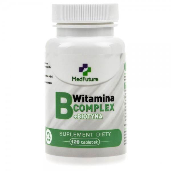 MedFuture Witamina B-Complex - 120 tabletek