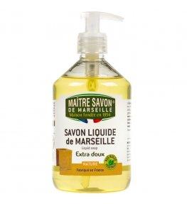 Mydło marsylskie w płynie naturalne 500 ml - Maître Savon