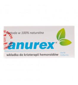 Anurex wkładka do krioterapii hemoroidów - 1 sztuka