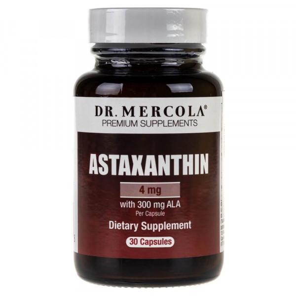 Dr Mercola Astaksantyna 4 mg - 30 kapsułek