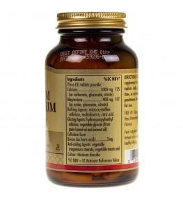 Solgar Wapń Magnez plus Bor - 100 tabletek