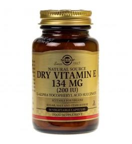 Solgar Sucha Witamina E 134 mg - 50 kapsułek