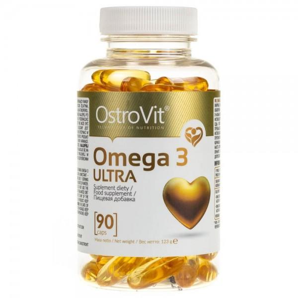 OstroVit Omega 3 ULTRA - 90 kapsułek