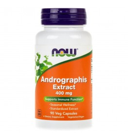 Now Foods Andrographis Extract 400 mg - 90 kapsułek