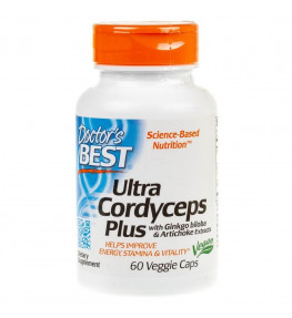 Doctor's Best Ultra Cordyceps Plus - 60 kapsułek
