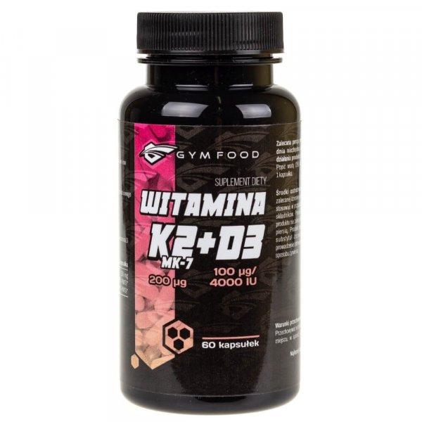 Pharmovit Witamina K2 MK-7 200 µg + D3 100 µg - 60 kapsułek