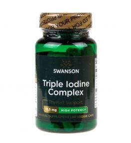 Swanson Triple Iodine Complex (potrójny kompleks jodu) - 60 kapsułek