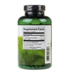 Swanson Hydrochloric Acid z Pepsyną 325 mg - 250 kapsułek