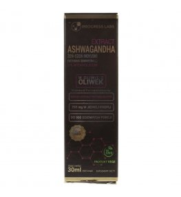 Progress Labs Ashwagandha w kroplach - 30 ml