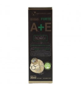 Progress Labs Witamina A+E FORTE w kroplach - 30 ml
