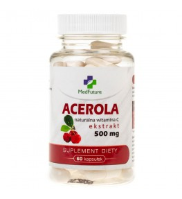 MedFuture Acerola 500 mg - 60 kapsułek