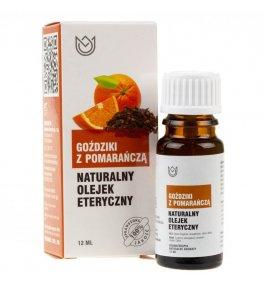 Naturalne Aromaty olejek eteryczny Goździki z pomarańczą - 12 ml