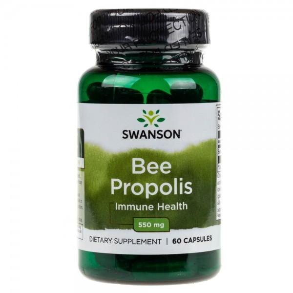 Swanson Bee Propolis (Pyłek Pszczeli) 550 mg - 60 kapsułek