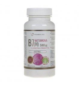 Progress Labs Biotyna Witamina B7 (H) 5000 µg - 60 kapsułek